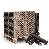 PALIGO Holzbriketts PiniKay Mischholz Buche Eiche Nadelholz Kamin Ofen Brenn Holz Heiz Brikett 10kg x 30 Gebinde 300kg / 1 Palette Heizfuxx