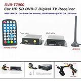 KUNFINE 12-24V - Receptor para coche (formato DVB-T, HDTV, un sintonizador, MPEG4, MPEG2)