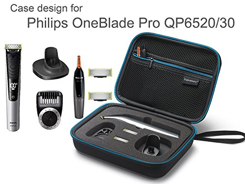 supremery case for philips oneblade pro qp6520 qp6510 case. Black Bedroom Furniture Sets. Home Design Ideas