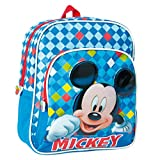 Disney 2100000675, Zainetto per bambini blu 27 cm
