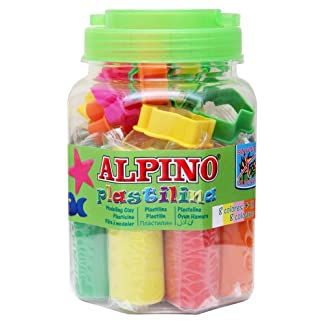 Alpino DP000054 – Kit plastilina
