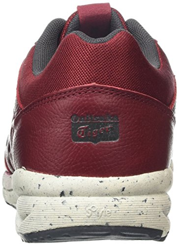 ASICS Shaw Runner, Baskets Basses Adulte Mixte Rouge (Burgundy)