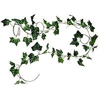90cm Künstliche Efeuranken Kunstpflanzen Hängepflanze Rattan Kunststoff Deko