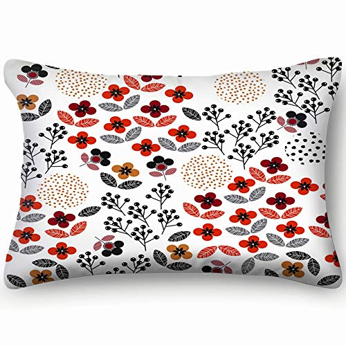 dfgi modern small Scale Colorful Geometric Liberty Pillowcases Decorative Pillow Covers Soft and Cozy, Standard Size 20
