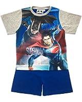 DC Comics Boys Batman vs Superman Pyjamas Short 2 Piece Pjs Pyjama Set Superhero Kids Size UK 3-10