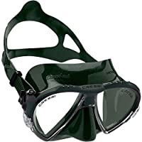 Cressi Matrix Máscara, Unisex Adulto, Verde, Talla Única