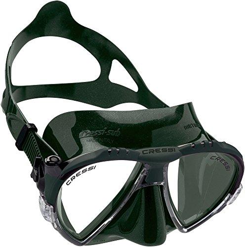 Cressi Unisex Ranger Tauchen Schnorcheln Maske,Grün ,One (Grüner Ranger Maske)