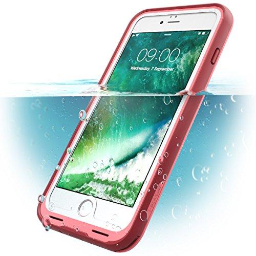 Funda Apple iPhone 7 Plus, Carcasa para Apple iPhone 8 Plus, i-Blason Waterproof [a prueba de agua] [ultrarresistente] completa con protector de pantalla incorporado para Apple iPhone 7 Plus 2016/ Apple iPhone 8 Plus 2017