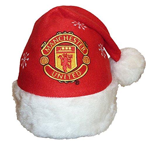 Manchester United F.C. Manchester United Christmas Santa Beanie Hat