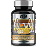 Iron Labs Nutrition, BCAA - 2400mg BCAAs per Serving x 40 Servings - 120 Tablets