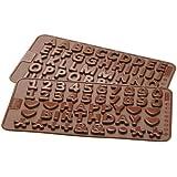 Birkmann M273803 - Molde de choco fondant letras y numeros