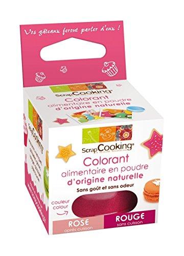 SCRAPCOOKING - Colorant alimentaire naturel rouge