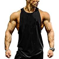 EUFANCE Uomini Muscolare del Taglio della Traversa Allenamento Bodybuilding Senza  Maniche Palestra Camicie Canotte Vest ab757611207c