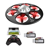 UDI U845 UFO WiFi FPV Drone with HD Camera Entry Level Headless Mode Quadcopter Live Video from UDI RC