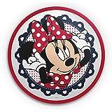 Philips Disney Minnie Mouse - Plafón, LED, iluminación interior, luz blanca cálida, LED integrado 7,5 W, color rojo