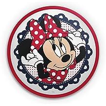 Philips Disney Minnie Mouse - Plafón, iluminación interior, luz blanca cálida, bombilla led de 7,5 W, plástico, color rojo