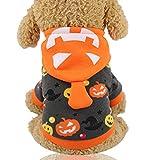 ZGCP Ropa para perros de Halloween ropa divertida para mascotas...