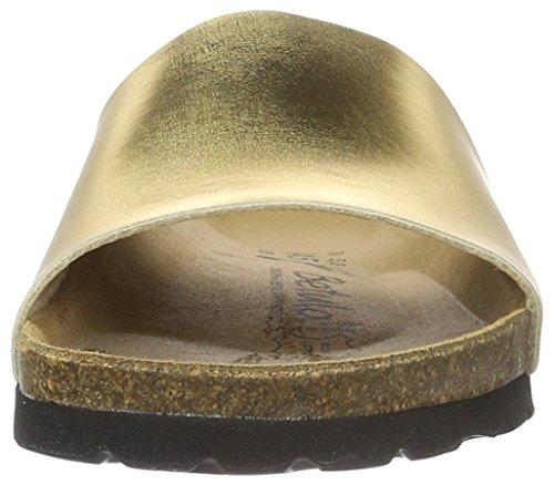 Betula Damen Reggae Pantoletten Gold (BF Mirror Gold)