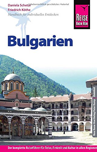 Preisvergleich Produktbild Reise Know-How Bulgarien (Reiseführer)