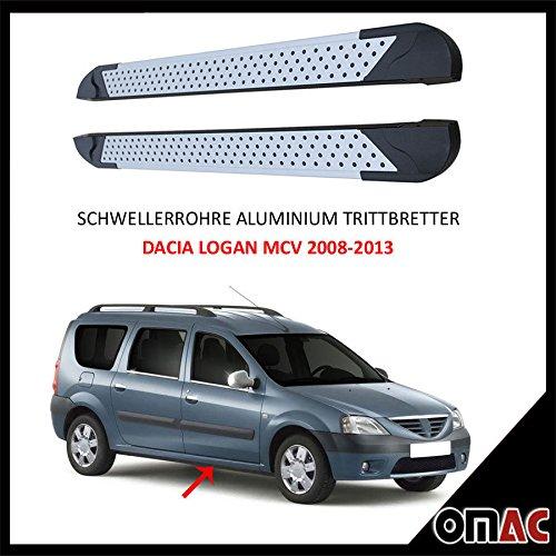 schweller tubi alluminio Pedane DACIA LOGAN MCV 2008-2013Almond (213)