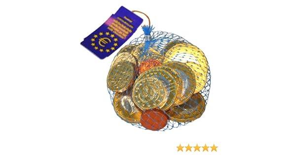 Schokoladen Euro Münzen Netz Amazonde Lebensmittel Getränke