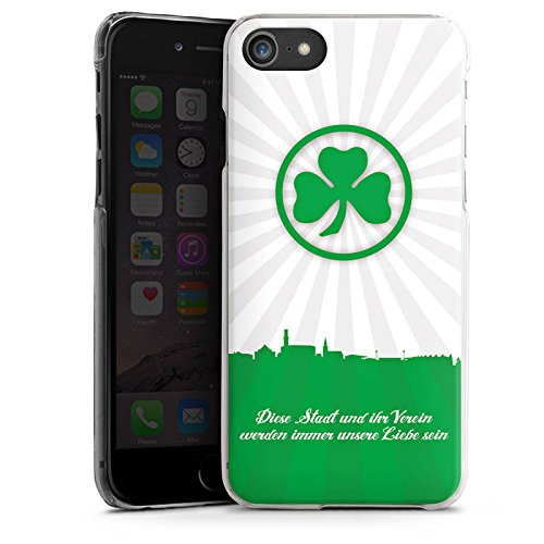 Apple iPhone X Silikon Hülle Case Schutzhülle SpVgg Greuther Fürth Fanartikel Bundesliga Hard Case transparent