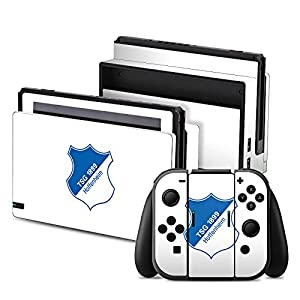 DeinDesign Nintendo Switch Folie Skin Sticker aus Vinyl-Folie Aufkleber TSG Hoffenheim Fanartikel Football