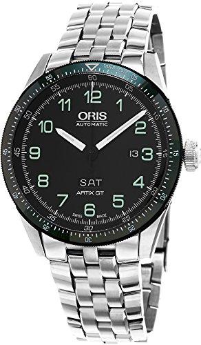Oris Artix Gt Calobra Limited Edition Ii 73577064494SET 44mm Automatic Silver Steel Bracelet & Case Anti-Reflective Sapphire Men's Watch