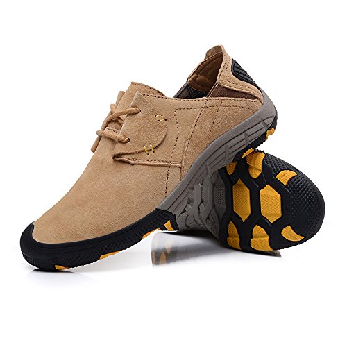CHT Printemps Eté Automne Extérieur Alpinisme Randonnée Chaussures Hommes Multi-codes De Taille Multi-couleurs Respirants lightbrown