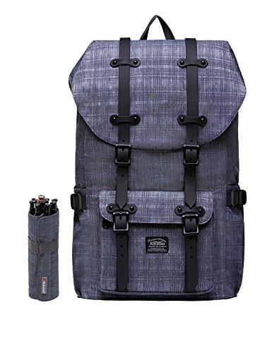 5db8206636 Rucksack Damen Handgepäckrucksack Herren KAUKKO Backpack Schulrucksack  KAUKKO 17 Zoll Laptop Rucksack für 15