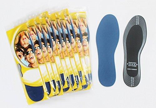 Duftende Fußcreme (12 x Einlegesohlen mit Aktivkohle Einlegesohle Schweißfüße Schweiß Schuheinlagen)
