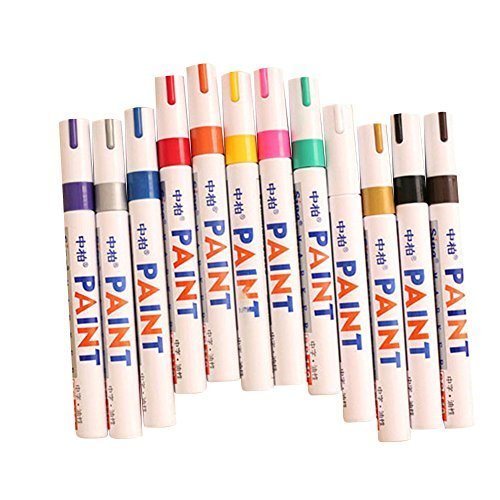 12-colors-sets-fine-paint-oil-based-art-marker-pen-metal-glass-waterproof