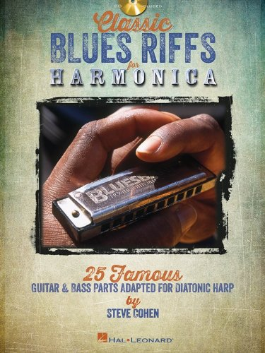 Classic blues riffs harmonica harmonica+CD