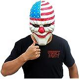 CreepyParty lujo de la novedad de Halloween animales de l¨¢tex fiesta de disfraces m¨¢scara de payaso de cabeza