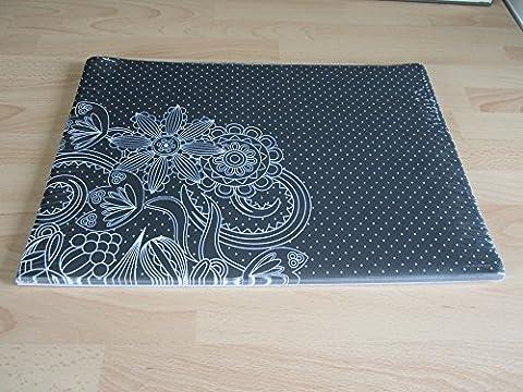 Mia schwarz & weiß Papier Tischsets (Set von 100)