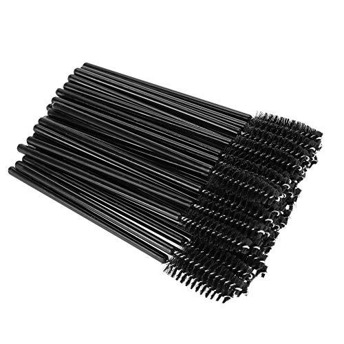 Einweg Wimpern Mascara Make-up Pinsel(Schwarz) -