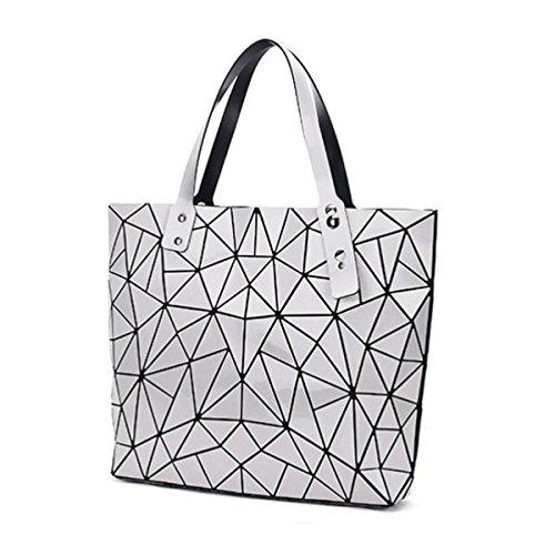 Handtaschen Mode-Hand Variety Freizeit-Beutel Geometrische Umhängetasche Silver