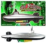 KandyToys Spion Mission Batteriebetrieben U-Boot Pool Wasser Spielzeug