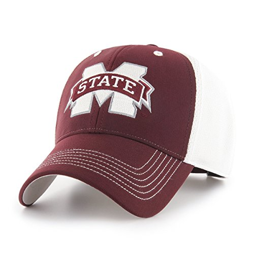 OTS NCAA Sling Star MVP verstellbar Hat, Unisex, NCAA Sling OTS All-Star MVP Adjustable Hat, Dark Maroon Maroon-mesh-hut