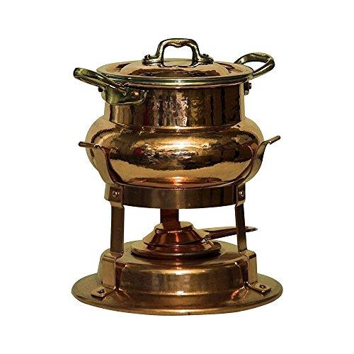 Bottega DEL Rame– Juego de olla para fondue