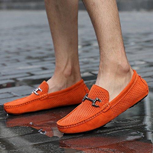 Fashion Master II , Herren Mokkasins 1 Orange