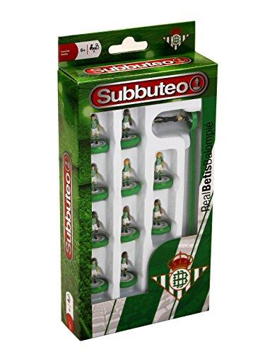 Eleven Force- Balompi&ampeacute Subbuteo Teambox Real Betis (81939),, Ninguna (