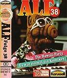 ALF MC Nr. 38 - Die Hawai-Party + Es war einmal ein Komiker Original Hörspiel zur TV-Serie [Musikkassette] [Musikkassette] - Alf