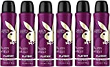 Playboy Queen of The Game Deo Body Spray, 6er Pack (6x150ml)
