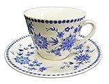 Seltmann Weiden Doris Bayerisch Blau Kaffeegedeck 2tlg.
