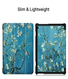 Vertily Tablet Case Leather Sheath Magnetic Case Slim Shell Smart Stand Cover Leather for Lenovo Tab M10 10.1Inch Full Body Protective Case Dust-Proof Collision Magnetic Leather Cover Case