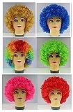 Bllomsem Explosive Cosplay Kopf Perücke Partei Fans verrückt lustige Kostüm lustig Props Clown Perücke rot