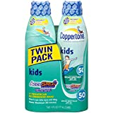 Coppertone SPF# 50 Continuous Spray Clear Kids Twin Pack (Sonnenspray)