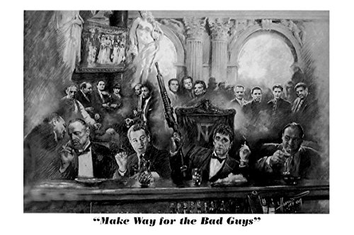 Close Up Make way for the Bad Guys Poster (91,5cm x 61cm) + Ü-Poster