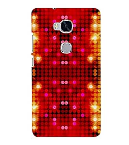 Takkloo abstract pattern ( doted pattern, trendy pattern, colourful pattern) Printed Designer Back Case Cover for Huawei Honor 5X :: Huawei Honor X5 :: Huawei Honor GR5